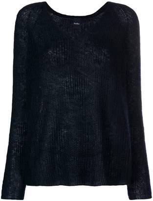 Max Mara v-neck lightweight sweater