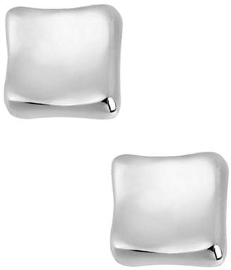 Robert Lee Morris SOHO Silver Square Stud Earring