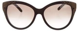 Chloé Embellished Gradient Sunglasses