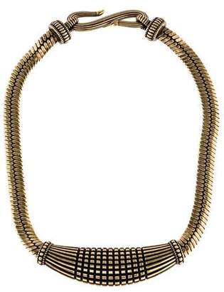 Giles & Brother Textured Collar Necklace