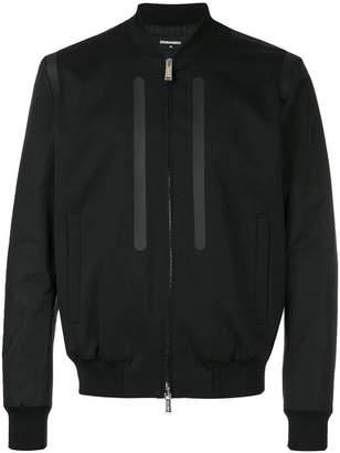 DSQUARED2 matte insert bomber jacket