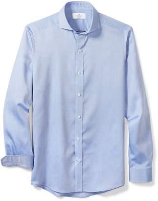 Buttoned Down Men's Fitted Cutaway-Collar Sport Shirt