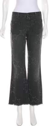 Stella McCartney Distressed Mid-Rise Jeans w/ Tags