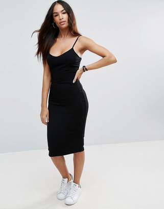 ASOS Midi Cami Body-Conscious Dress $19 thestylecure.com