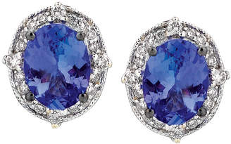 LeVian Le Vian 14K 2.23 Ct. Tw. Diamond & Tanzanite Earrings