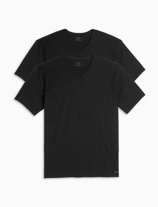 Calvin Klein cotton classic fit 2-pack v-neck t-shirts