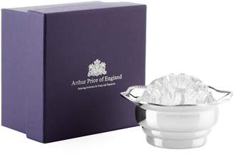 Arthur Price Of England Mounted Posy Bowl with Glass Insert