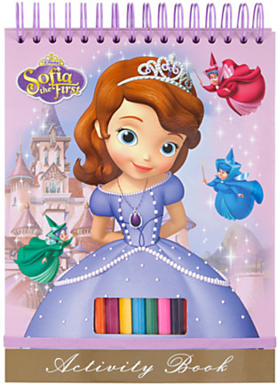 Disney Sofia Activity Book
