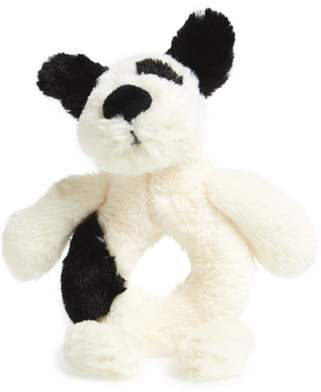 Jellycat 'Dog' Grabber Rattle