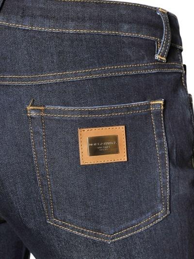 Dolce & Gabbana Slimmy Stretch Used Cotton Denim Jeans