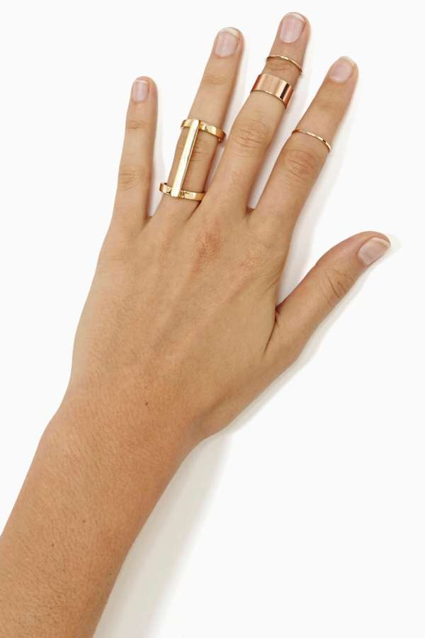 Nasty Gal Double Duty Ring