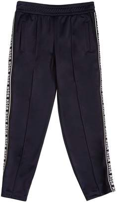 MSGM Logo Side Bands Track Pants