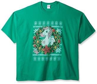 Hasbro Men's Big and Tall My Little Pony Ugly Christmas T-Shirt B&t,5XL