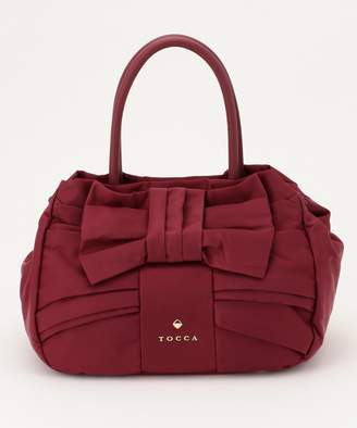 Tocca (トッカ) - TOCCA 【BAG COLLECTION】NYLON BOW TOTE トートバッグ(C)FDB