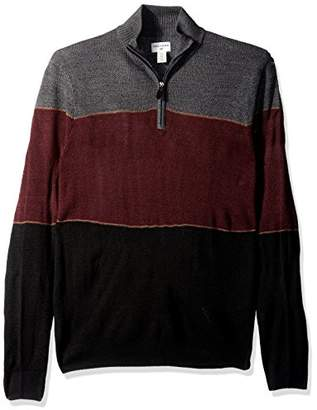 Dockers Quarter Zip Soft Acrylic Sweater