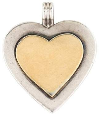 Tiffany & Co. Two-Tone Heart Pendant