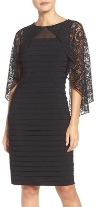 Women's Adrianna Papell Cape Dress $160 thestylecure.com