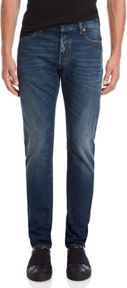 Maison Margiela Five-Pocket Lightly Distressed Jeans
