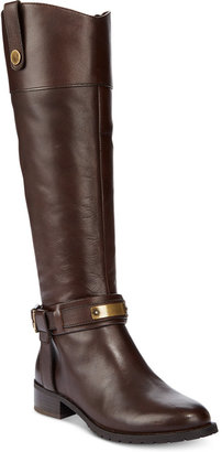 INC International Concepts Women's Fabbaa Tall Boots, Only at Macy's $189.50 thestylecure.com