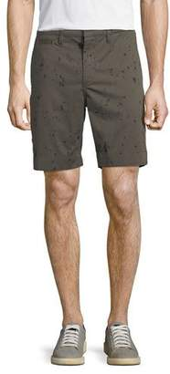 John Varvatos Men's Inkdrop-Print Shorts
