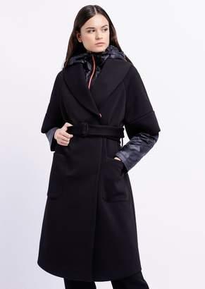 Emporio Armani 3-In-1 Techno Canvas Coat With Detachable Inner Jacket