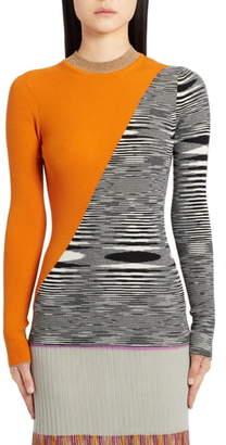 Missoni Space Dye Metallic Wool Sweater