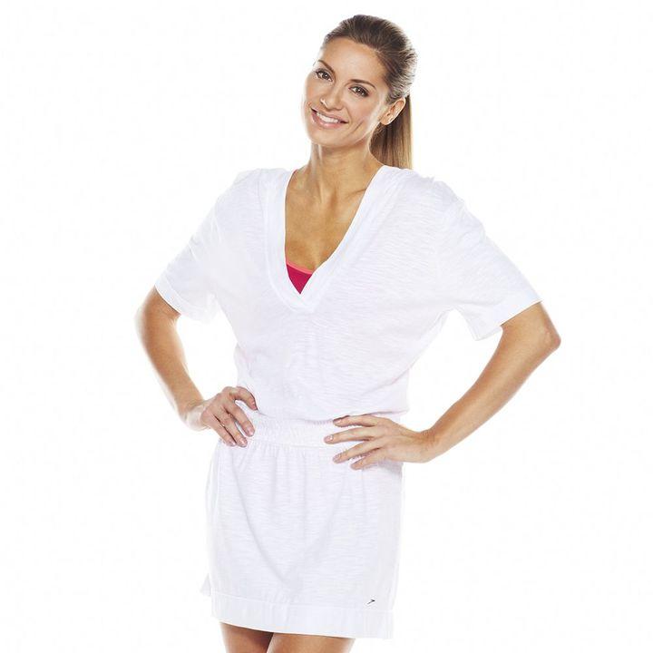SpeedoSpeedo Shirred Hooded Cover-Up - Women's
