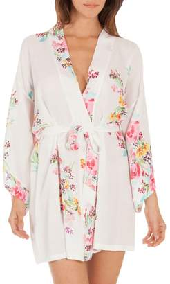 Jonquil In Bloom by Floral Print Robe