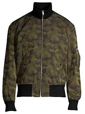The Kooples Men's Zip-Up Bomber Jacket