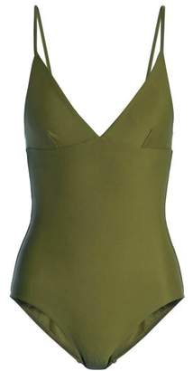 Matteau - The Plunge Swimsuit - Womens - Khaki