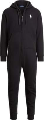 Ralph Lauren Cotton-Blend-Fleece Jumpsuit