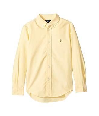 Polo Ralph Lauren Cotton Oxford Sport Shirt (Little Kids/Big Kids)
