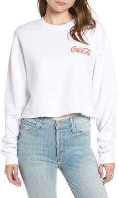 Junk Food Clothing Coke Crop Sweatshirt