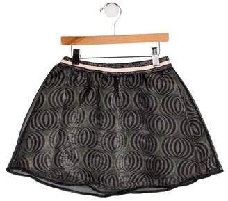 Scotch R'Belle Girls' Layered Mini Skirt
