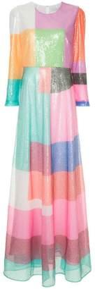 Mary Katrantzou sequined block dress