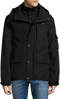 S13/Nyc S 13/NYC Men's Mock Layered Jacket