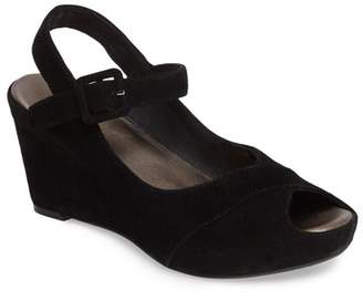 Johnston & Murphy TARA ANKLE STRAP WEDGE SANDAL