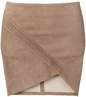 RtA wrap-effect skirt