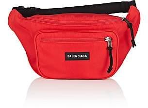 Balenciaga Men's Explorer Belt Bag - Red
