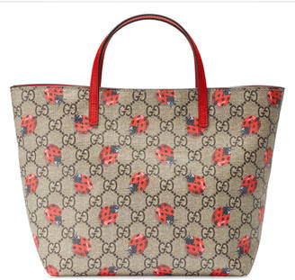 Children's GG ladybugs tote $530 thestylecure.com