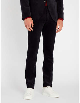 Tiger of Sweden Todman slim-fit cotton-velvet trousers