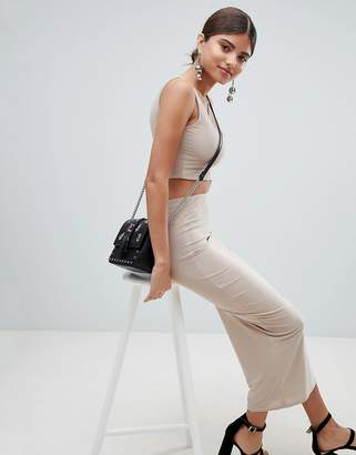PrettyLittleThing Slinky Midaxi Skirt