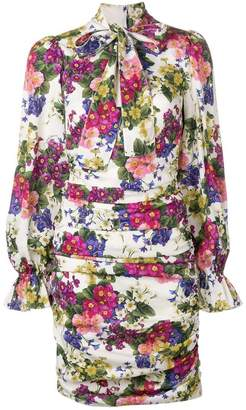 Dolce & Gabbana floral short dress
