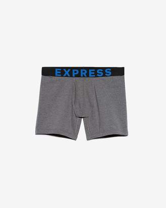 Express Solid Contrast Waistband Boxer Briefs