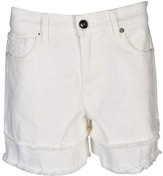 Semi-Couture Semicouture Fringed Shorts