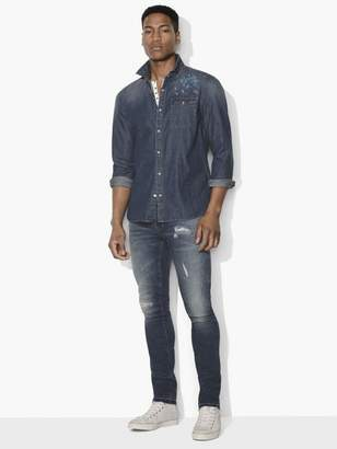 John Varvatos Desert Rose Denim Shirt