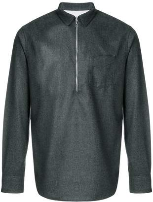 Officine Generale half zip shirt