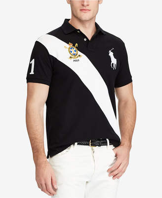 132b8778 wholesale polo ralph lauren mens custom slim fit mesh big pony polo cda8f  28914