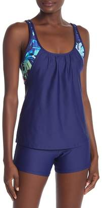 Next Double-Up Tropical Sports Bra Tank
