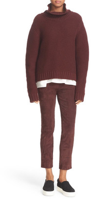 VINCE. Wool & Cashmere Cowl Neck Sweater $345 thestylecure.com